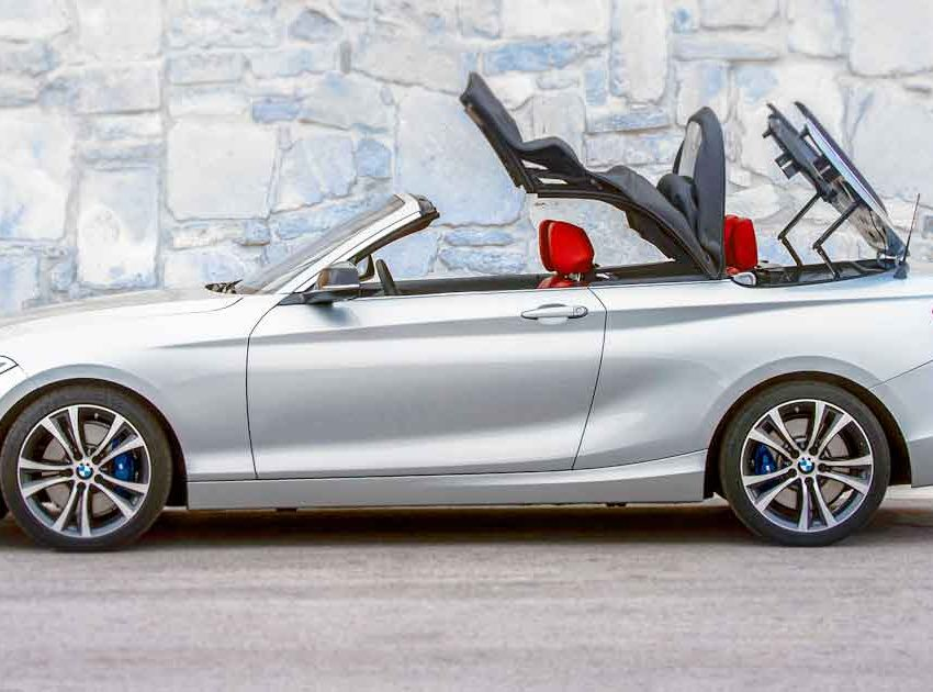 BMW 2 Series Convertible Maintenance 2016 Prior