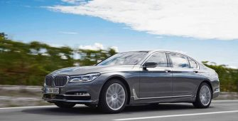BMW 7 Series Maintenance 2016 Prior