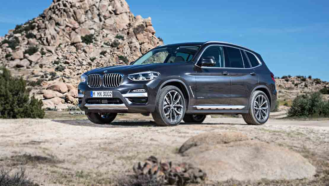 BMW X3 Maintenance 2016 Prior