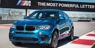 BMW X6 M Maintenance 2016 Prior