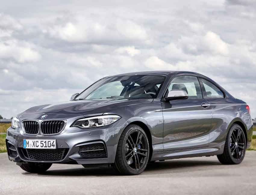 BMW 2 Series Maintenance 2016 Prior