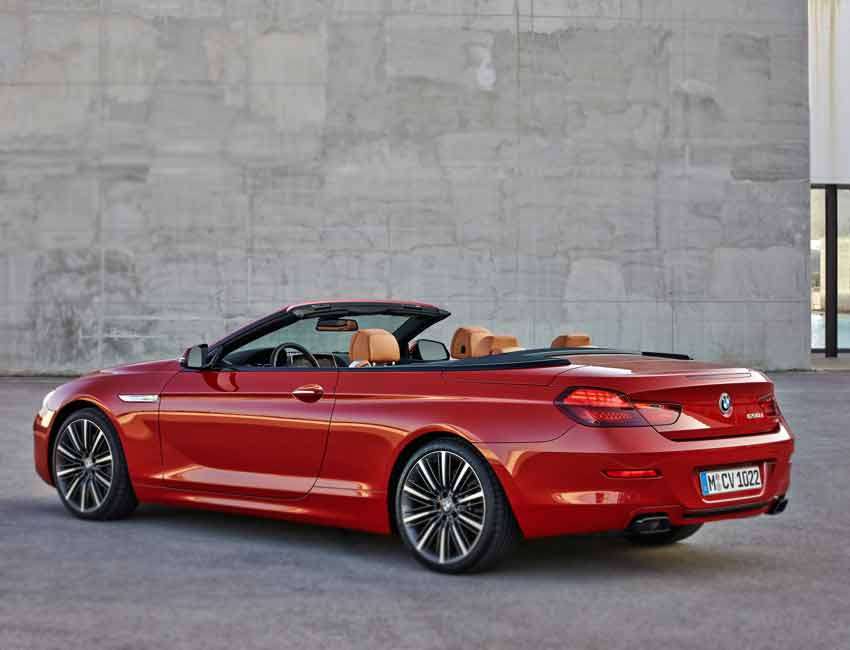 BMW M6 Convertible Maintenance 2016 Prior