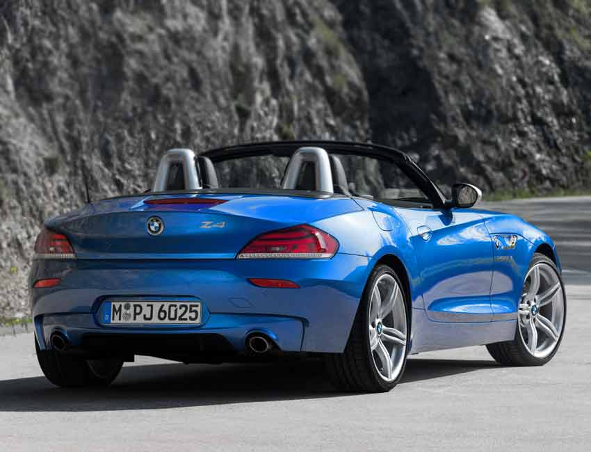 BMW Z4 Convertible Maintenance 2016 Prior