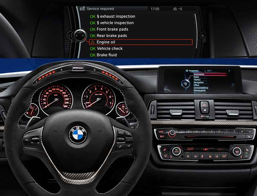 BMW Condition Based Service CBS Maintenance 2016 Prior