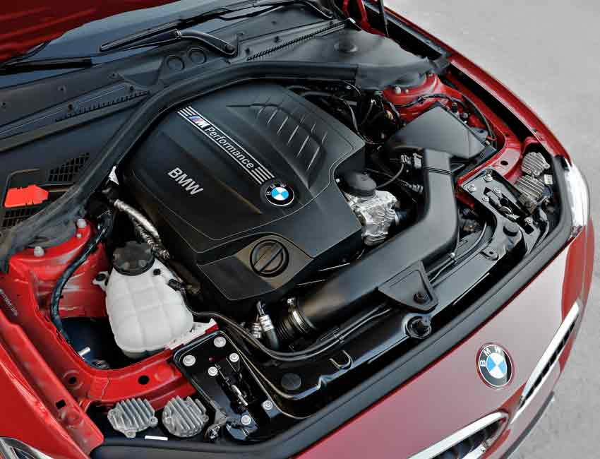 BMW 2 Series Maintenance Engine 2016 Prior