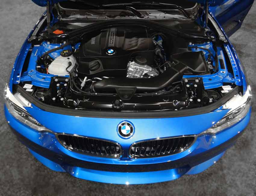 BMW 4 Series Maintenance Engine 2016 Prior