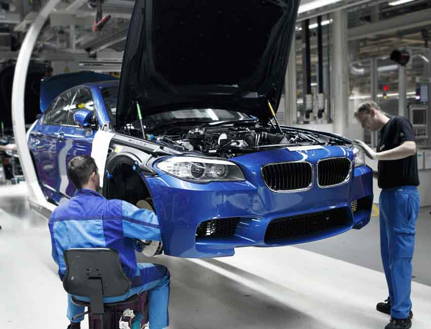 BMW M5 Sedan Maintenance 2016 Prior