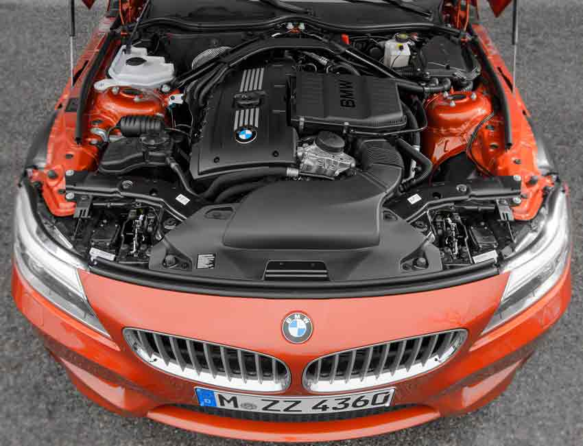 BMW Z4 Maintenance Engine 2016 Prior