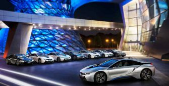 BMW i8 Hybrid Coupe Supercar