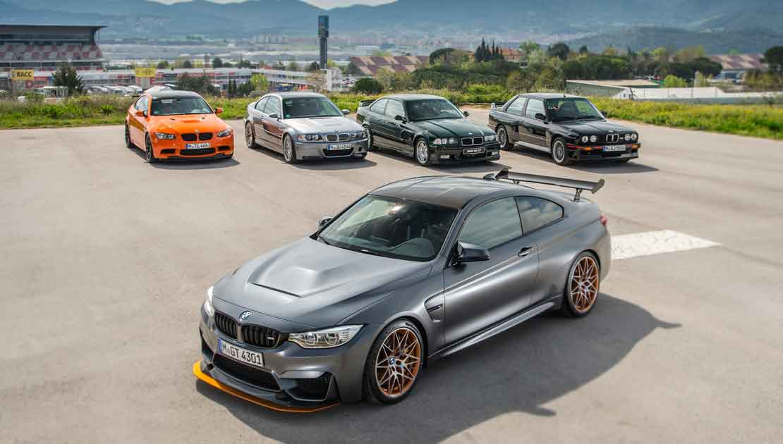 The BMW M4 GTS Versus the BMW M3 GTS