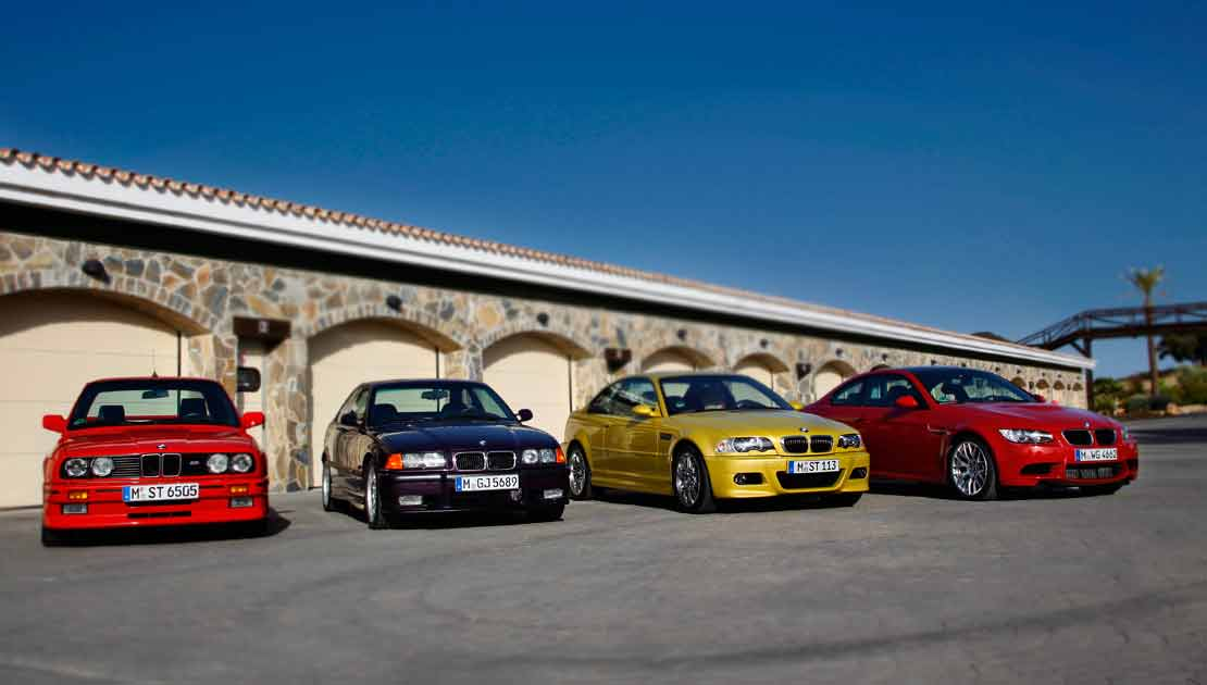 BMW M3 Evolution and History
