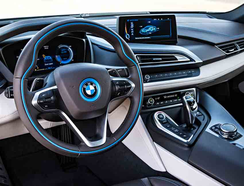 BMW i8 Hybrid Coupe Performance ConnectedDrive