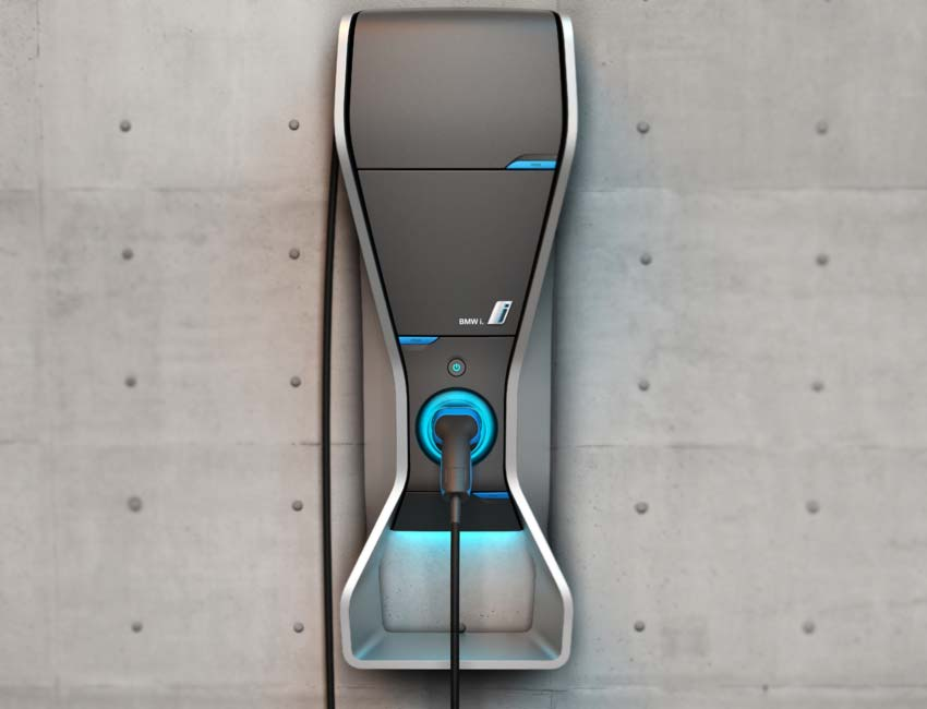 BMW i8 Plug-in Hybrid Coupe Performance 360 Electric Home Charging