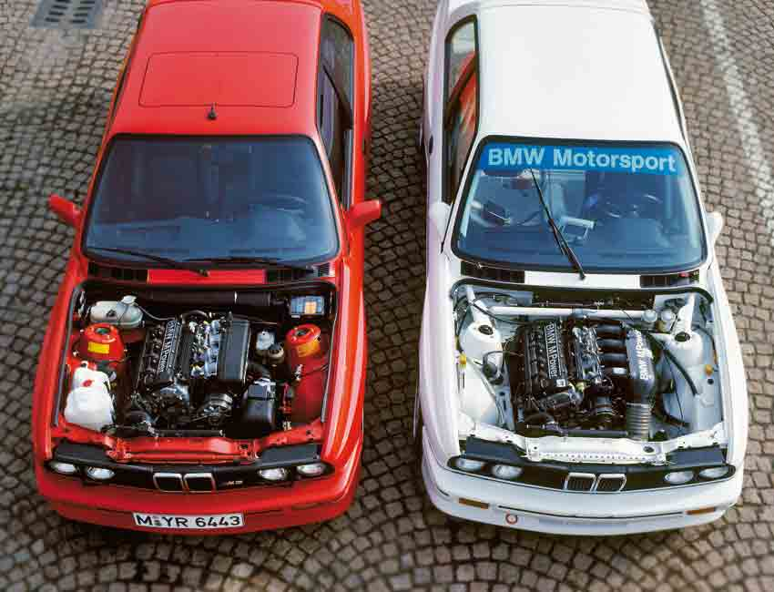 BMW M3 History E30 Production Version