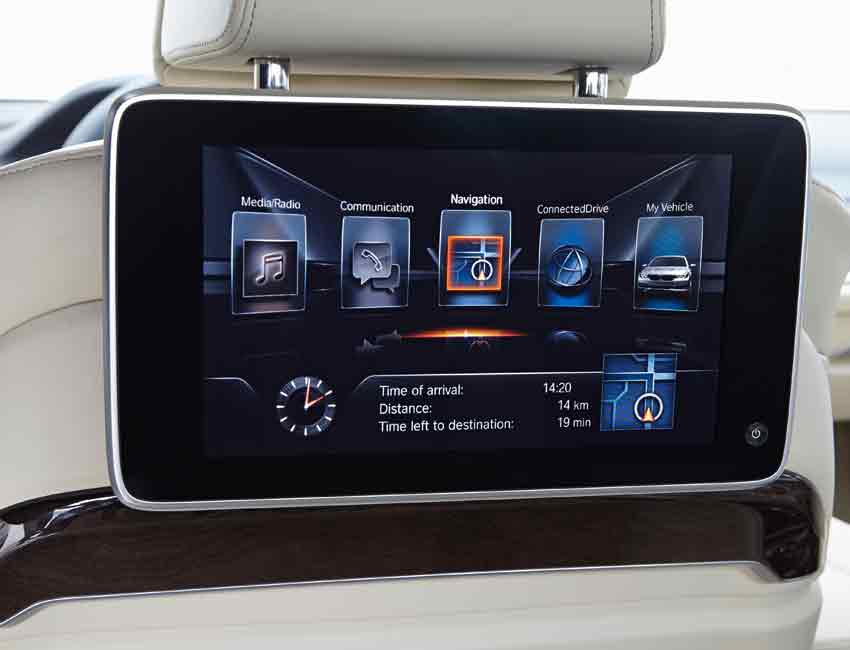 BMW 7 Series Technology Tablet