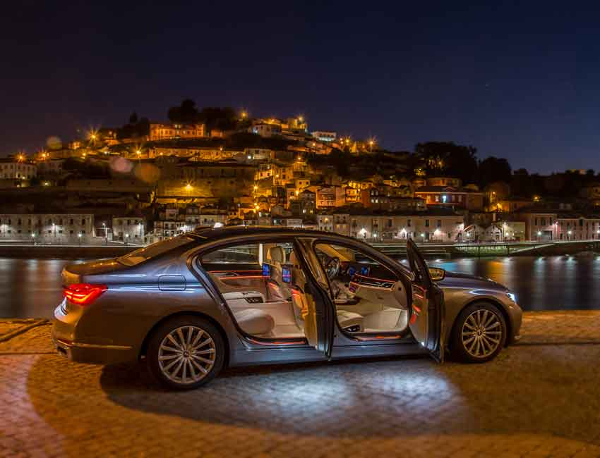 BMW 7 Series Luxury Ambient Interior Lighting