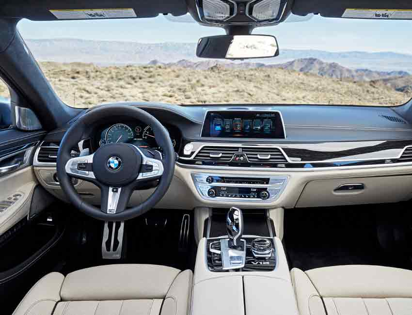 BMW 7 Series Interior Luxury