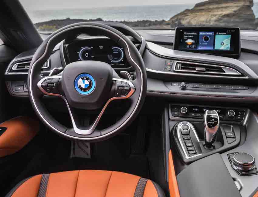 BMW i8 Plug-in Hybrid Coupe Chassis and Suspension