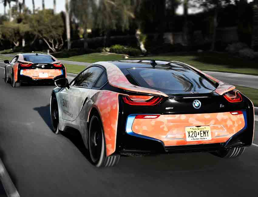 BMW i8 Hybrid Coupe Exterior Paint