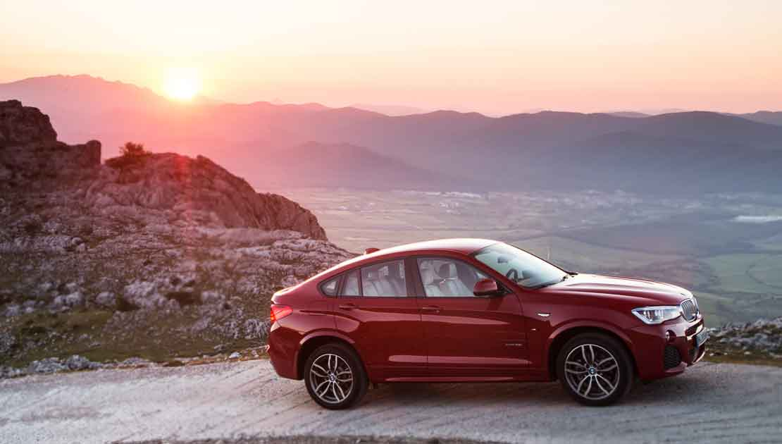BMW X4 Sports Coupe