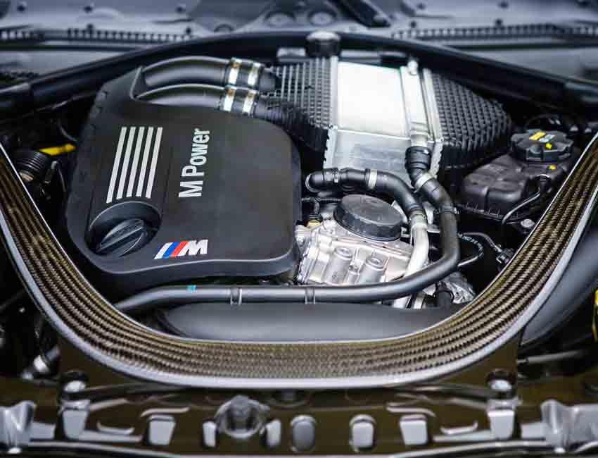 BMW M4 Coupe S55 Engine