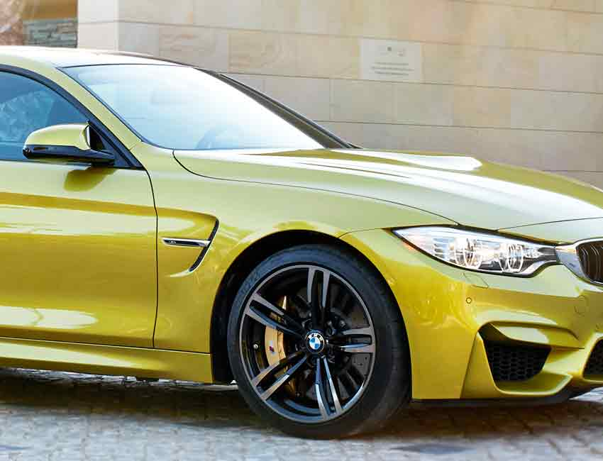 BMW M4 Carbon Ceramic Brakes Driving Experience