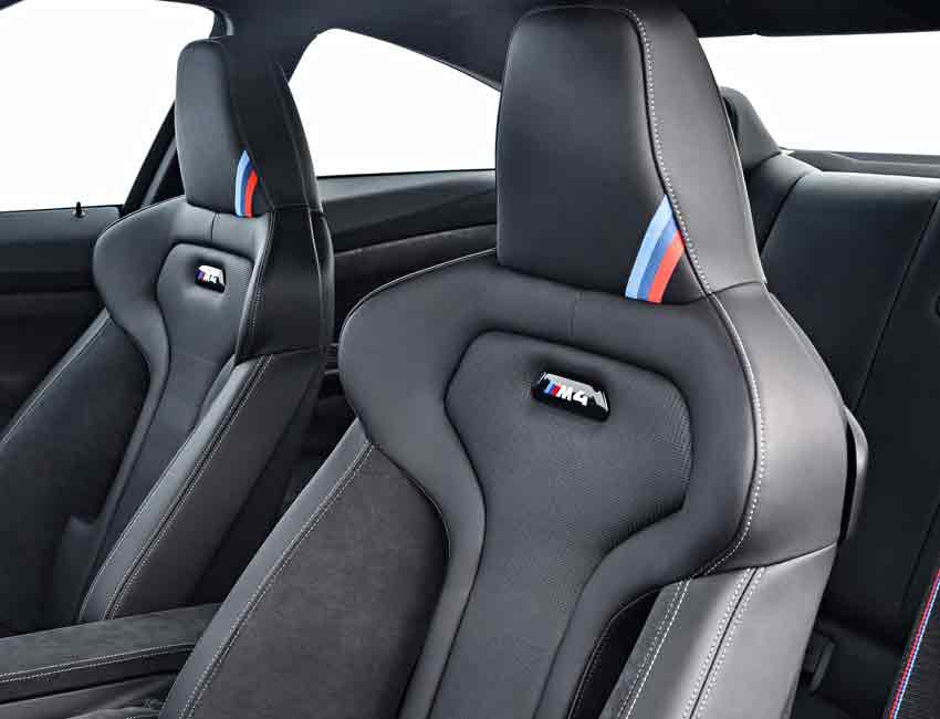 BMW M4 Coupe Interior Upholstery