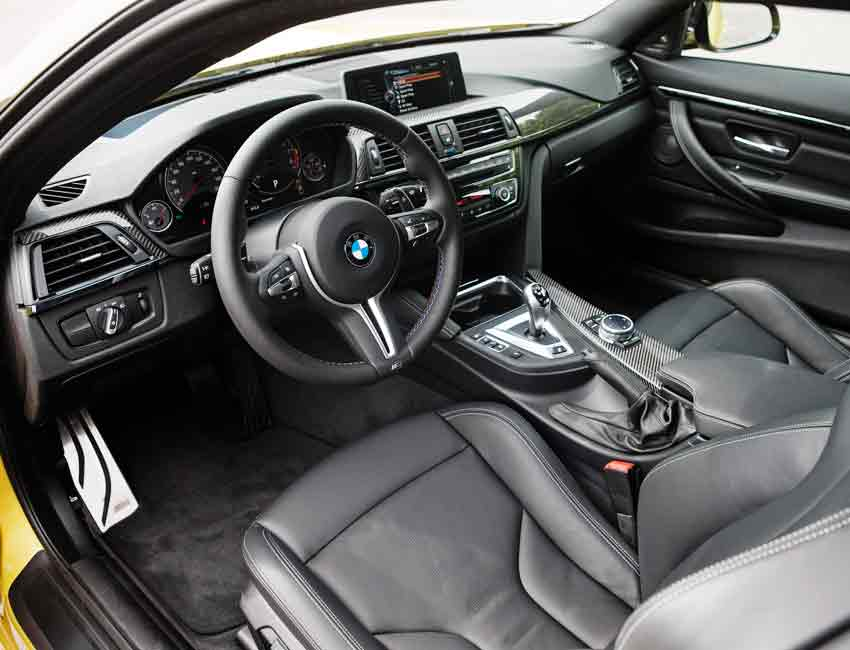 BMW M4 Coupe Interior Cockpit