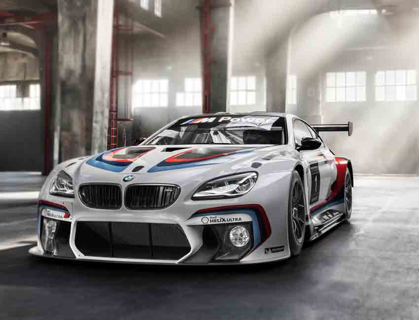 BMW M6 GT3 Supercar Racing