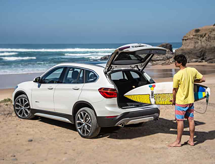 BMW X1 Maintenance Sports Beach Surfing
