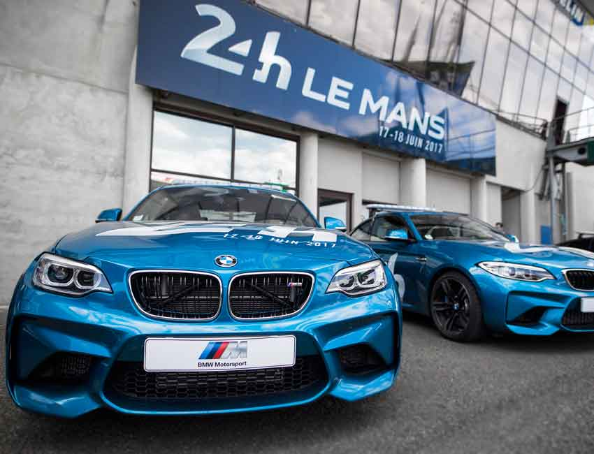 BMW M2 Coupe Maintenance 24-hour Le Mans