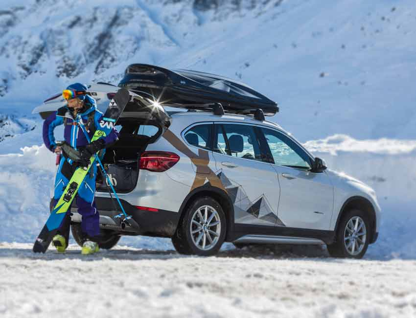 BMW X1 Maintenance Sports Snow Boarding