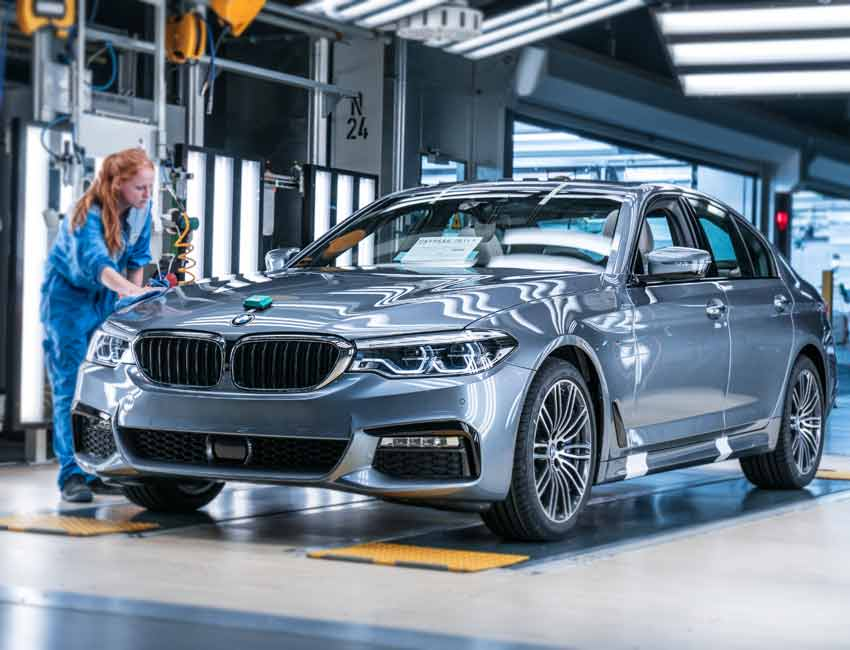 BMW 5 Series Maintenance 2017 and Later Models Service
