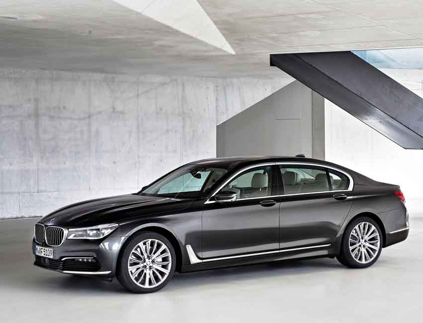 BMW 7 Series Luxury Sedan Maintenance 2017 and Later Models Full View