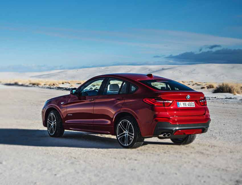BMW X4 Maintenance Sports