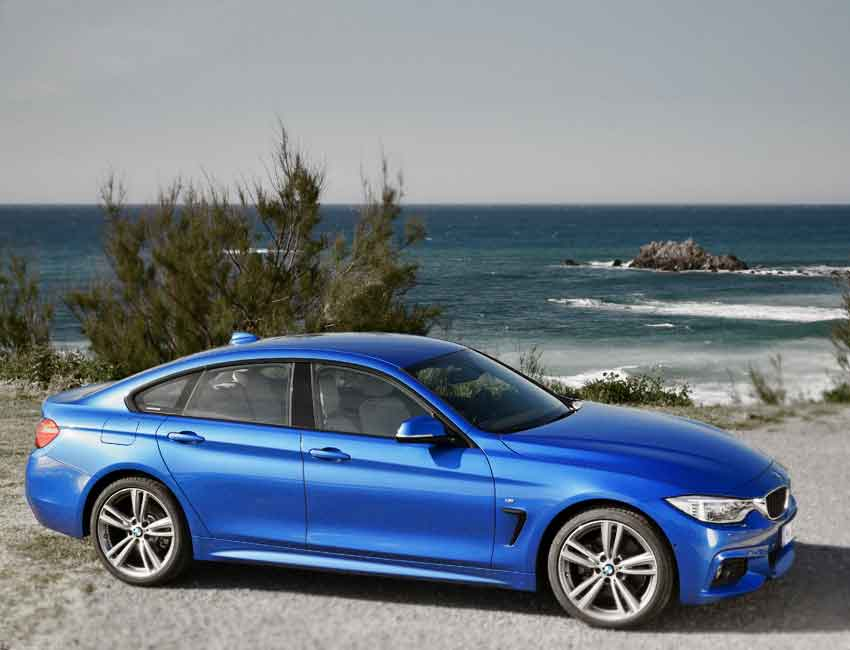 BMW 4 Series Maintenance 2017 and Later Models Side View
