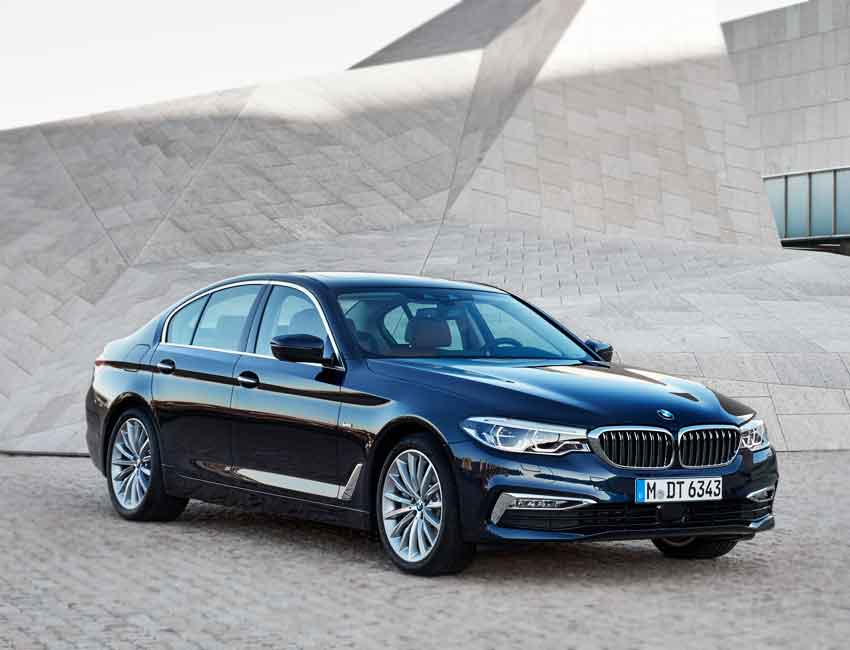 BMW 5 Series Sedan Maintenance 2017 and Later Models