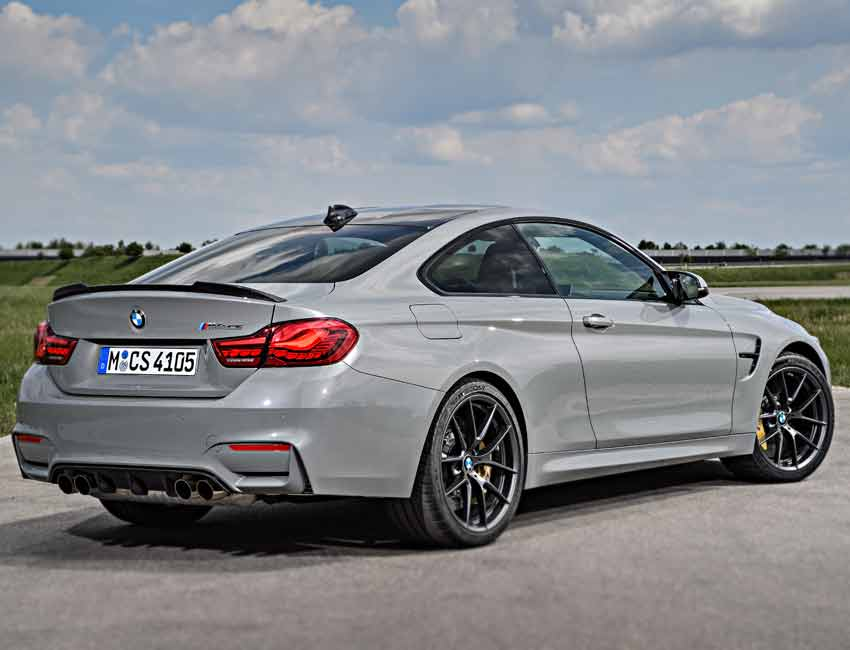 BMW M4 CS Coupe Grey M Competition Maintenance with Carbon Ceramic Brakes