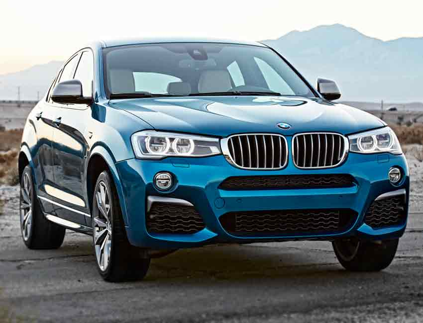 BMW X4 Maintenance