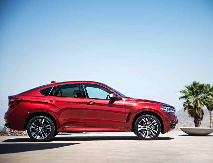 BMW X6 Maintenance Sports Red