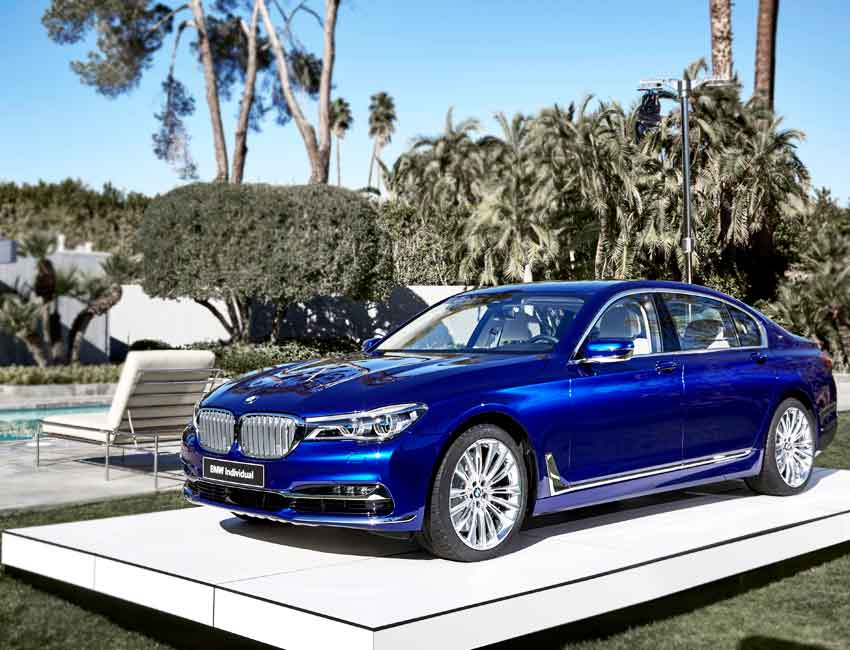 BMW 7 Series Sedan Maintenance 2017 and Later Models