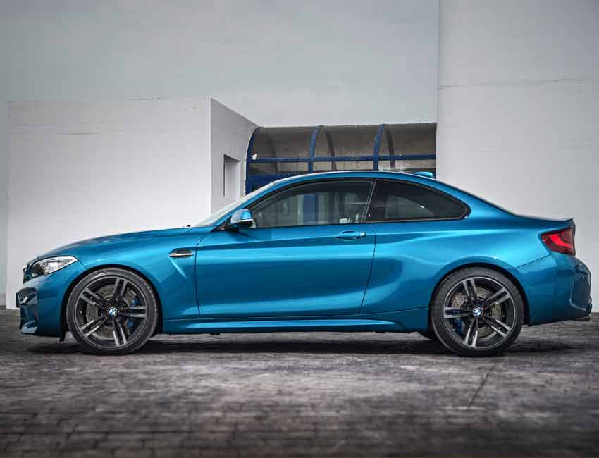 BMW M2 Coupe Maintenance with Compound Brakes