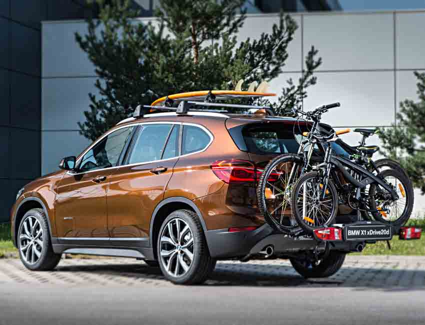 BMW X1 Maintenance Sports Bike Racks