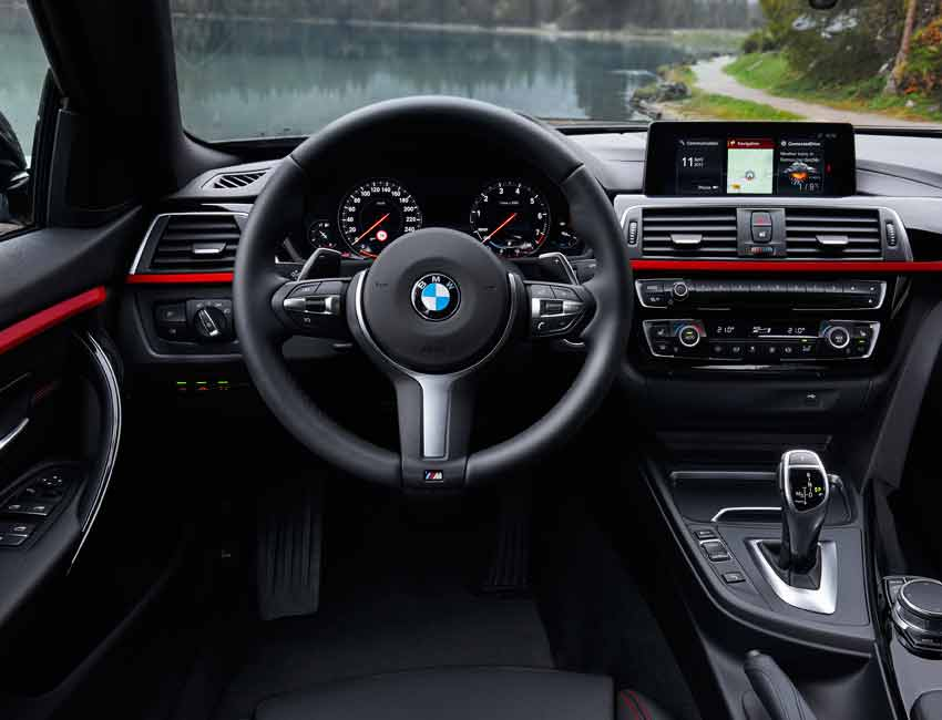 BMW 4 Series Maintenance 2017 and Later Models Interior