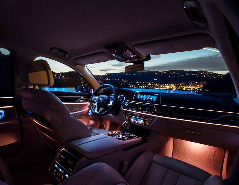 BMW 7 Series Interior Maintenance 2017 and Later Models
