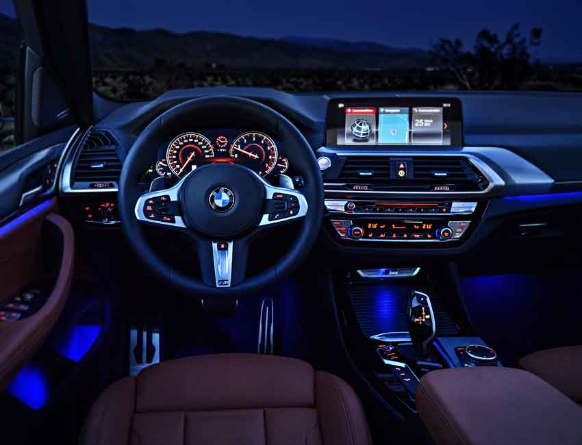 BMW X3 Maintenance Interior Sports