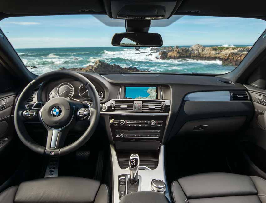BMW X4 Maintenance Sports Interior
