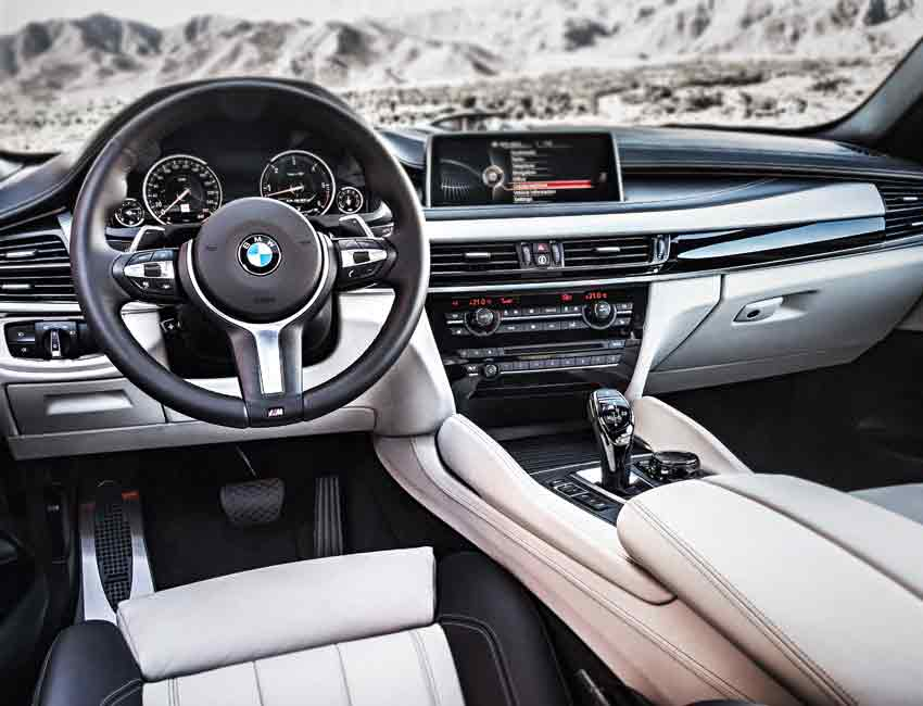 BMW X6 Maintenance Interior