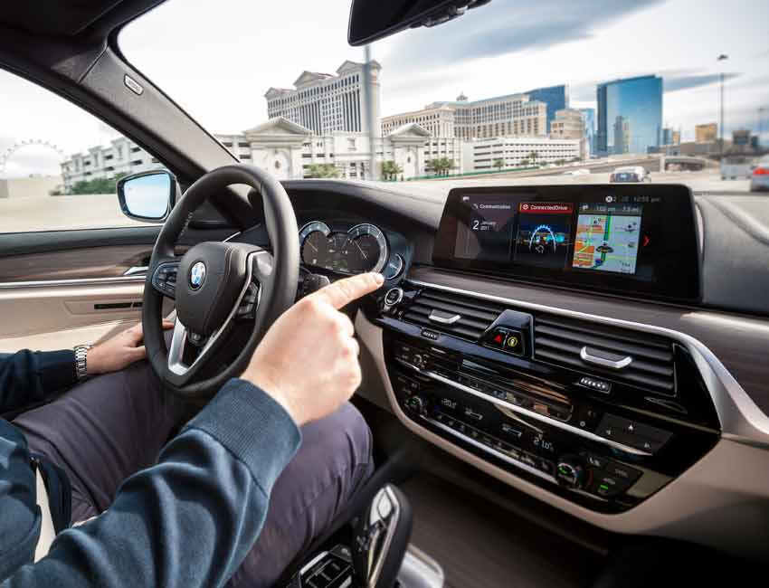 3 Generations of BMW Navigation System Professional Explained Gesture Control