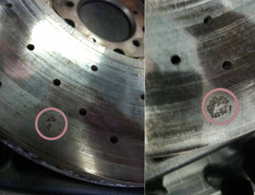 BMW M3 M Carbon Ceramic Brakes Wear and Tear